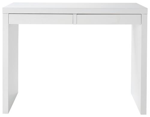 パソコンデスク(サイドデスク)ホワイトSD-612 (フラッシュ構造、UV塗装)W1000×D400×H720(チェアは別売り)【送料無料】【smtb-TK】