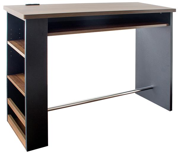 カウンターテーブル(KNT-1200)ラックの左右選択OK ブラック(欠品中、5月末入荷予定)/ホワイト W120×D39.5×H85cm【送料無料】【smtb-TK】