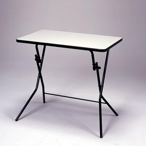 【日本製】フォールディングテーブル SB-75W スタンドタッチテーブル メラミン天板 W750×D500×H700 (折畳時W750×D190×H870)【smtb-TK】【完成品】【送料無料】