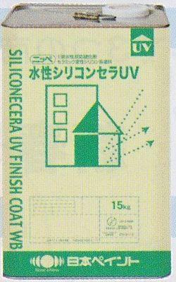 水性シリコンセラUV ホワイト 15kg 日本ペイント