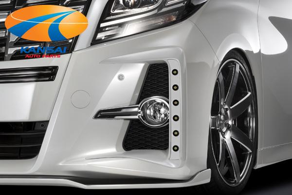 30アルファード専用設計のエアロパーツ 純国産のハイクオリティ 純正品を凌ぐ高フィット SilkBlaze 期間限定特別価格 シルクブレイズミニバンフロントリップシリーズLEDフォグカバー30系アルファード お得クーポン発行中 ハイブリッドを含む 業者への発送は送料半額 ショップ ※送料無料対象外 単色塗装済み 代引き決済不可