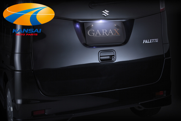純正ランプユニットに合わせた車種専用設計 室内を損なわずLED化が可能 統一感のあるライトアップが実現 通販 優良ショップ受賞記念特価72%OFF ルークス ギャラクスLEDナンバーランプパレット K'SPEC 正規認証品!新規格 GARAX