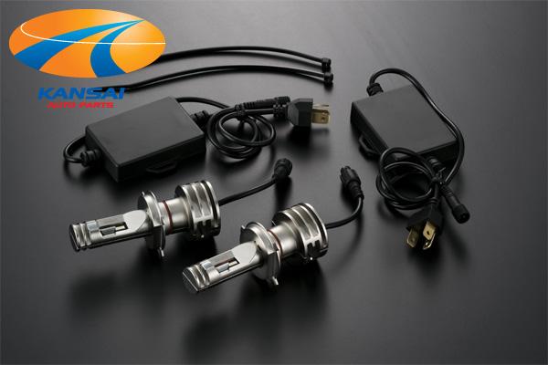 訳ありアウトレットK'SPEC GARAX ギャラクスLEDコンバージョンキット[COVRA]H4(Hi/Lo)切替タイプ/6000K