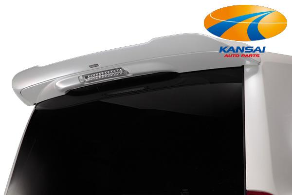 ★SilkBlaze シルクブレイズ★シルクブレイズエアロシリーズ70系ヴォクシー(ZRR70/75W 後期)リアウイングVer.2[塗装済み]※送料無料対象外(ショップ、業者への発送は送料半額!)