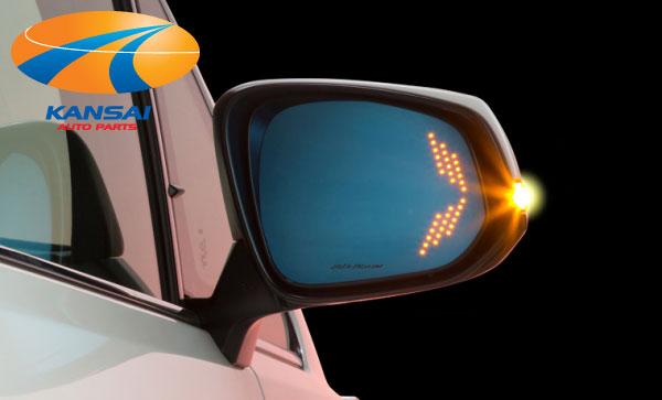 【14時まであす楽】SilkBlaze シルクブレイズ曲面複合ブルーレンズLEDウイングミラーツインモーションNGX50/ZYX10 C-HR(ヒーター付き)