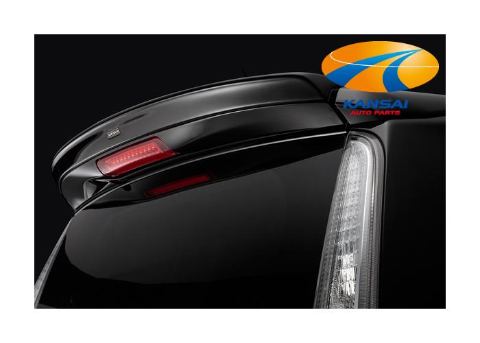 K-CARに魅せられるハイパフォーマンスな装い。車種専用設計のエアロパーツシリーズ。 SilkBlaze シルクブレイズLynxシリーズムーヴカスタム(LA100S/LA110S)リアウイング[未塗装]※送料無料対象外(ショップ、業者への発送は送料半額!)