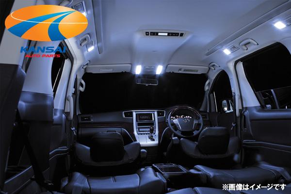 ★K'SPEC GARAX ギャラクス★ハイブリッド規格LEDシリーズLEDルームランプセット80系ノア/ヴォクシー