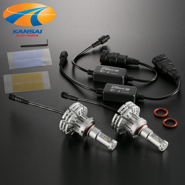 GARAX ギャラクスLEDコンバージョンキット HB3/4 9005/6 COVRA GT2ギャラン フォルティス スポーツバック H20.12~モデルチェンジまでロービーム:関西オートパーツ販売