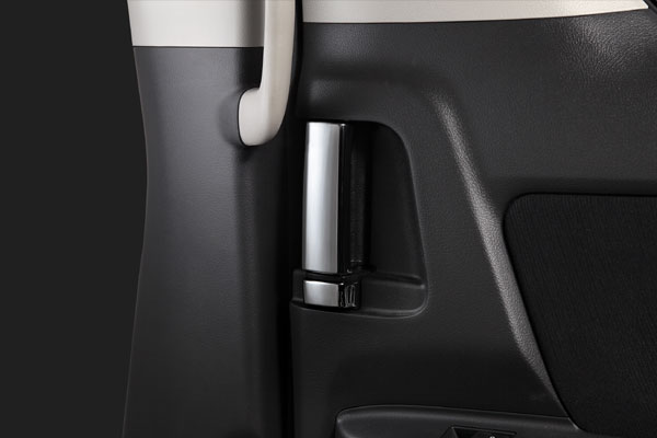 スライドドアハンドルをクロームメッキに 20系アルファード ヴェルファイア専用のインテリアパネル SilkBlaze 通信販売 ヴェルファイア クローム シルクブレイズインサイドハンドルクロームカバーI20系アルファード 初回限定