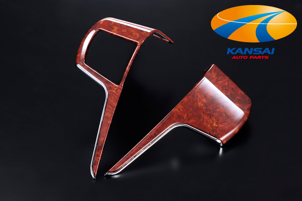 ★ Silk blaze SilkBlaze ★ Super color options panel series-20 series alphard / vellfire stealing side switch panel 2 p [shiny and Brown wood]