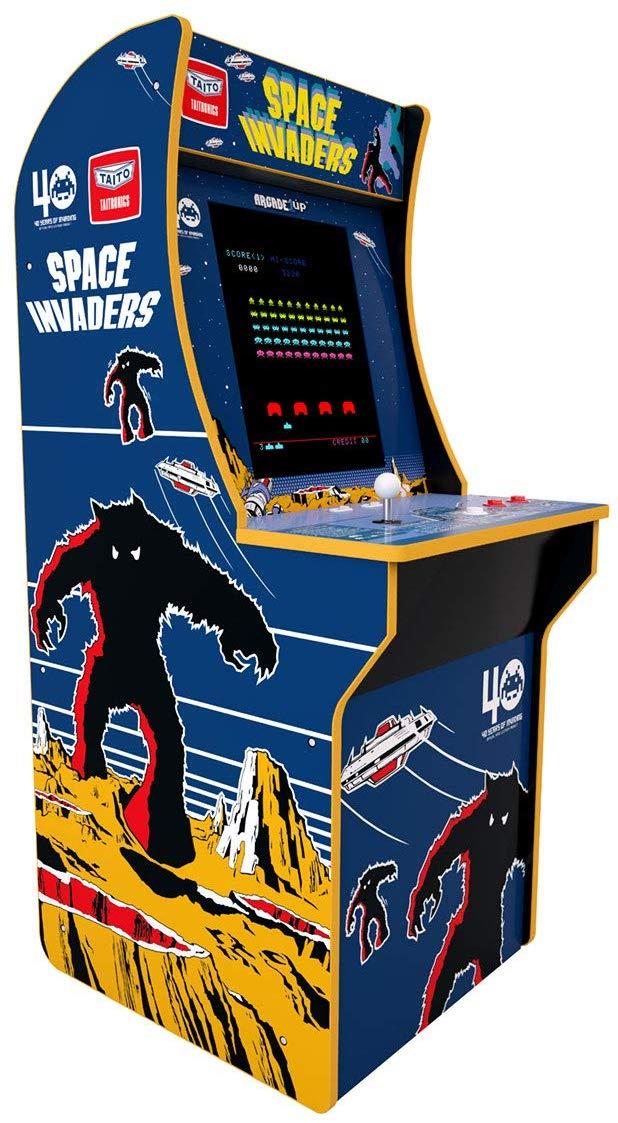 スペースインベーダー【spaceinvaders】アーケードゲーム 筐体 ARCADE1UP タイトー アーケードゲーム筐体を3/4サイズで再現 かんたん組立キット方式 約20kg