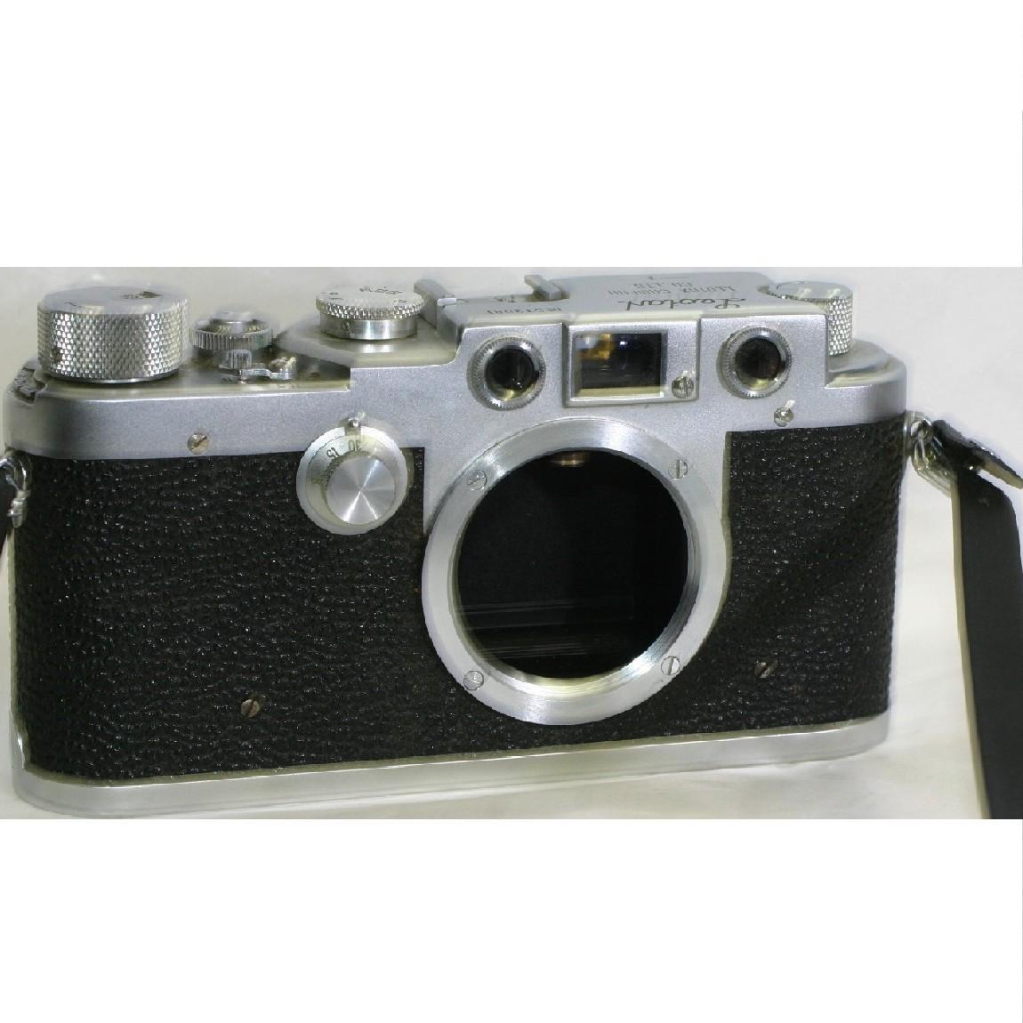 【中古】抜群に綺麗レオタックスカメラFライカスクリューマウントモデル ○F11-20-2