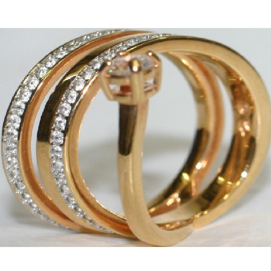 【中古】本物ほぼ新品スワロフスキー女性用蛇モチーフピンクゴールド色に沢山の綺麗なラインストーンが埋め込まれていてさらに大きいラインストーンのついた指輪サイズ表記は55で重さは5,1g日本サイズ14位プレゼントに最適