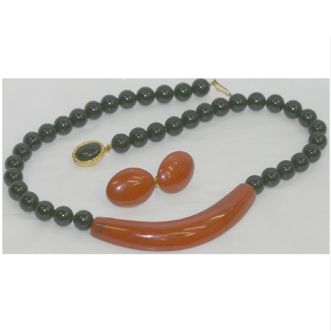 【中古】本物綺麗バンドームアオヤマ女性用ブライダル等にも最適な豪華な作りのネックレスとイヤリング
