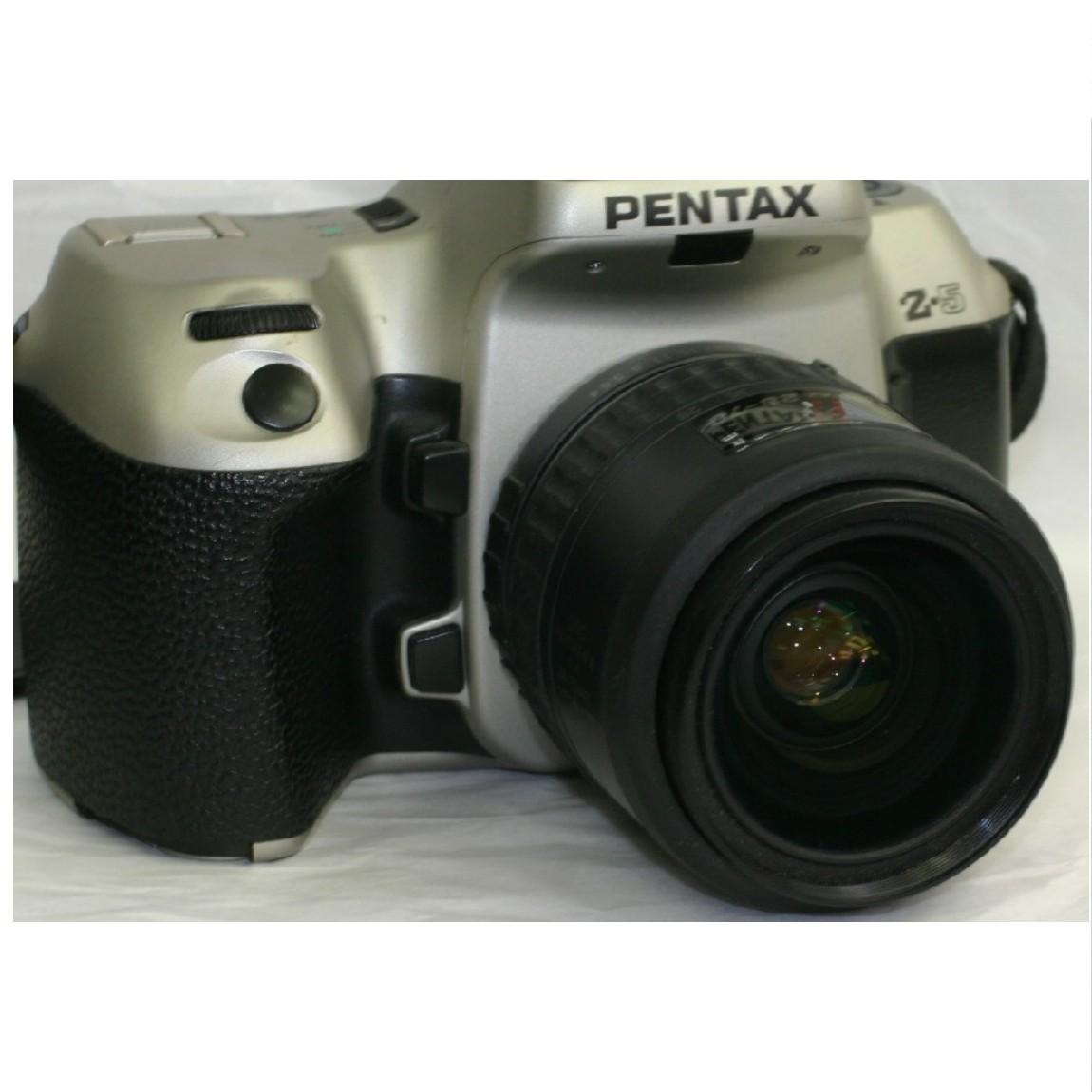 【中古】完動美品ペンタックス35mmフィルム使用AFカメラZ-5に純正レンズ35-70mm付きセット動作確認済み1ヶ月保証付き 290604-5