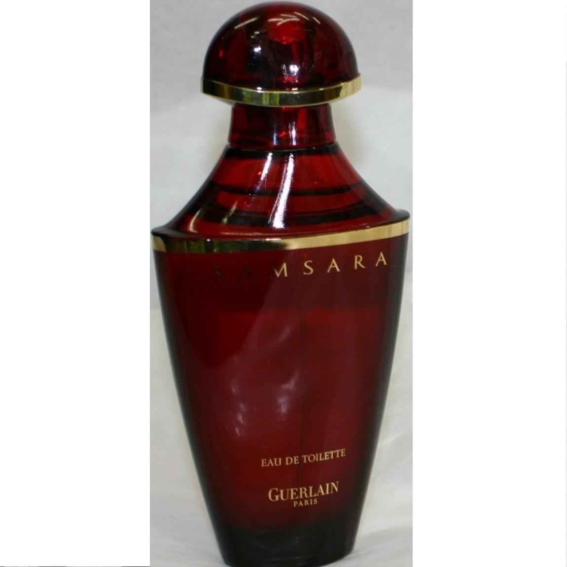 【中古】本物未使用ゲラン女性用人気の香水SAMSARA 50ml ○J11-61-2