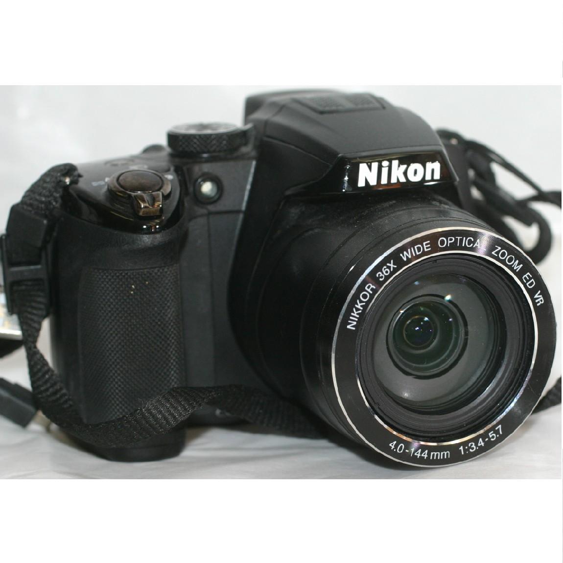 【中古】完動美品松下パナソニックの1210万画素デジタルカメラクールピクスP500 1ヶ月保障付