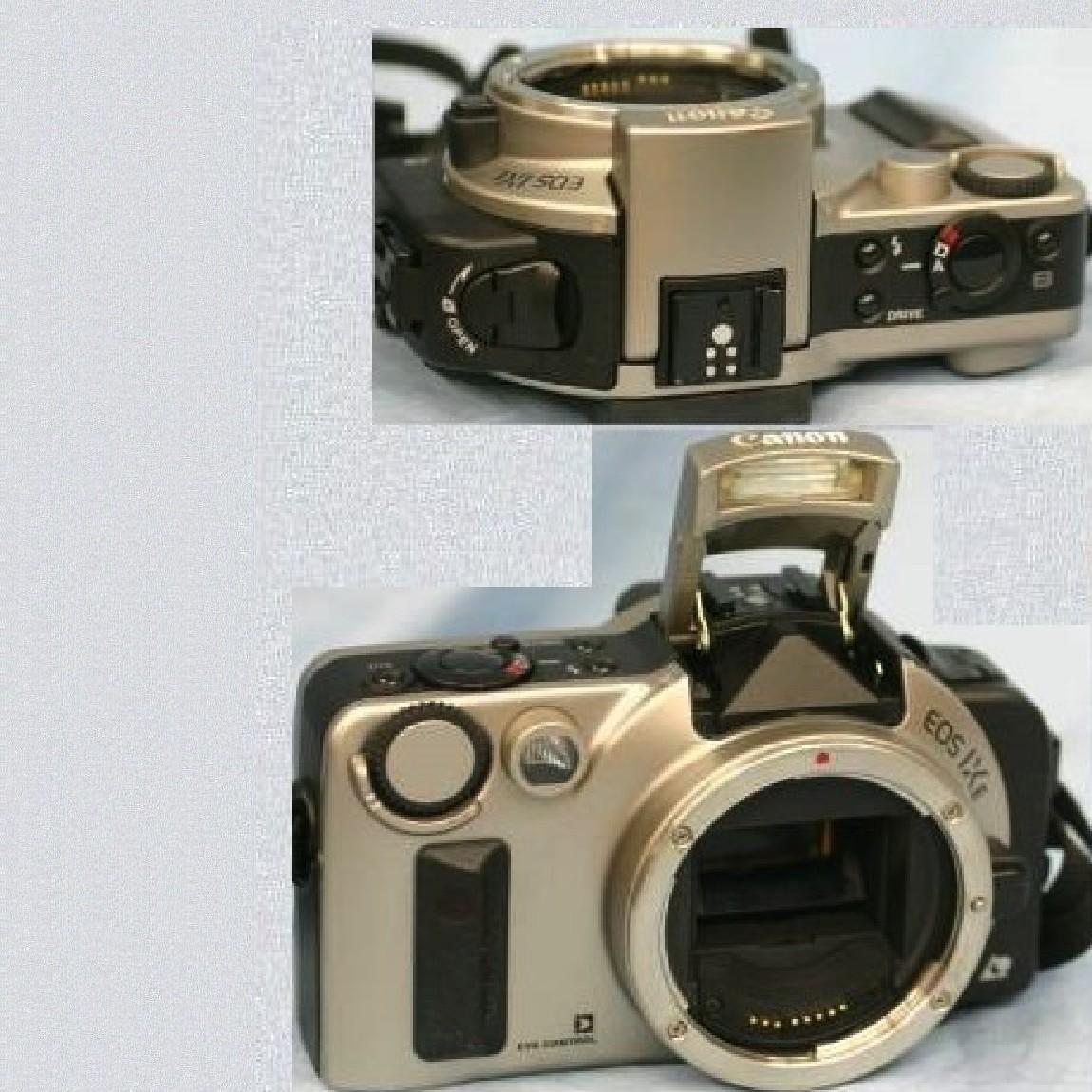 【中古】本物新品同様キャノンのAPS1眼レフカメラEOS IXEボディ
