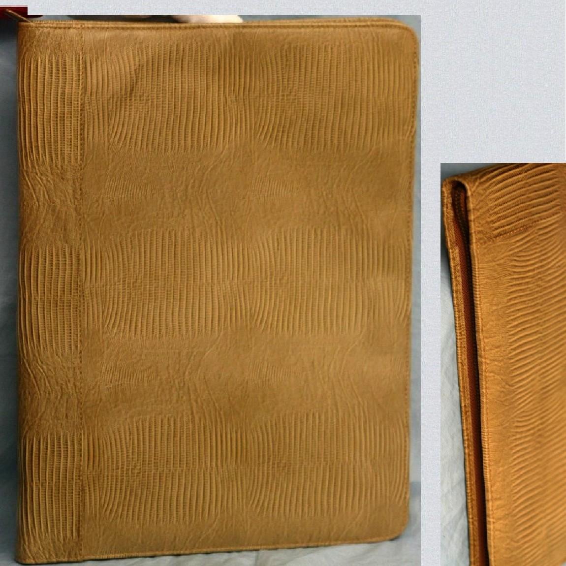 【中古】本物新品同様トルコ製UNITED ARROWS高級感漂う書類ケース