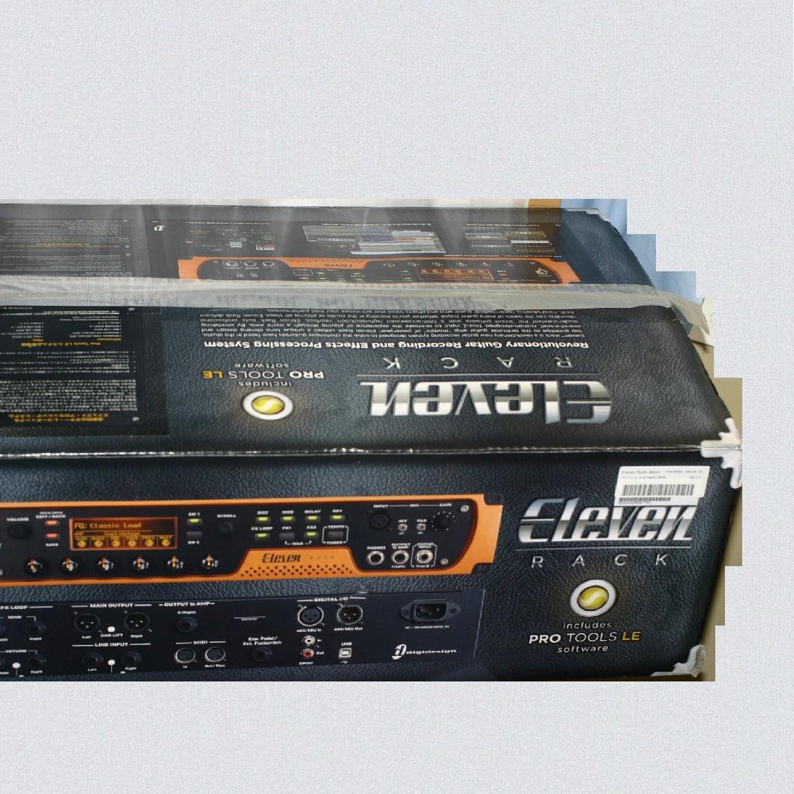 【中古】完動美品Eleven Rackのギターアンプシミュレーターver,8,03 1ヶ月保障つき ○J12-63
