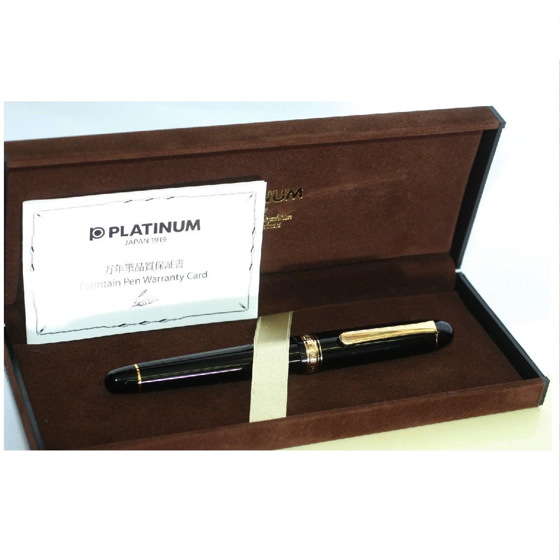 【中古】本物新品未使用プラチナK14ペン先万年筆 ○D14-6