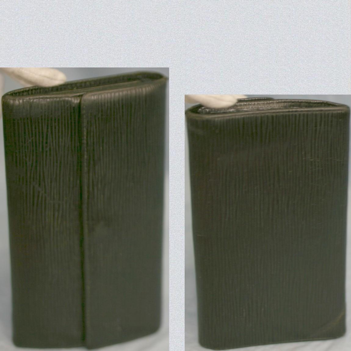 【中古】本物L/VM63592エピ女性用74000円19センチファスナー付財布