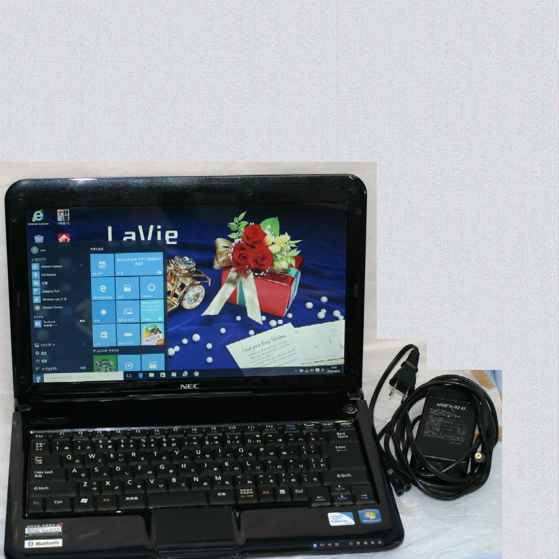 【中古】NECノートパソコンPC-LM330VH6B Windows10アップグレード済み