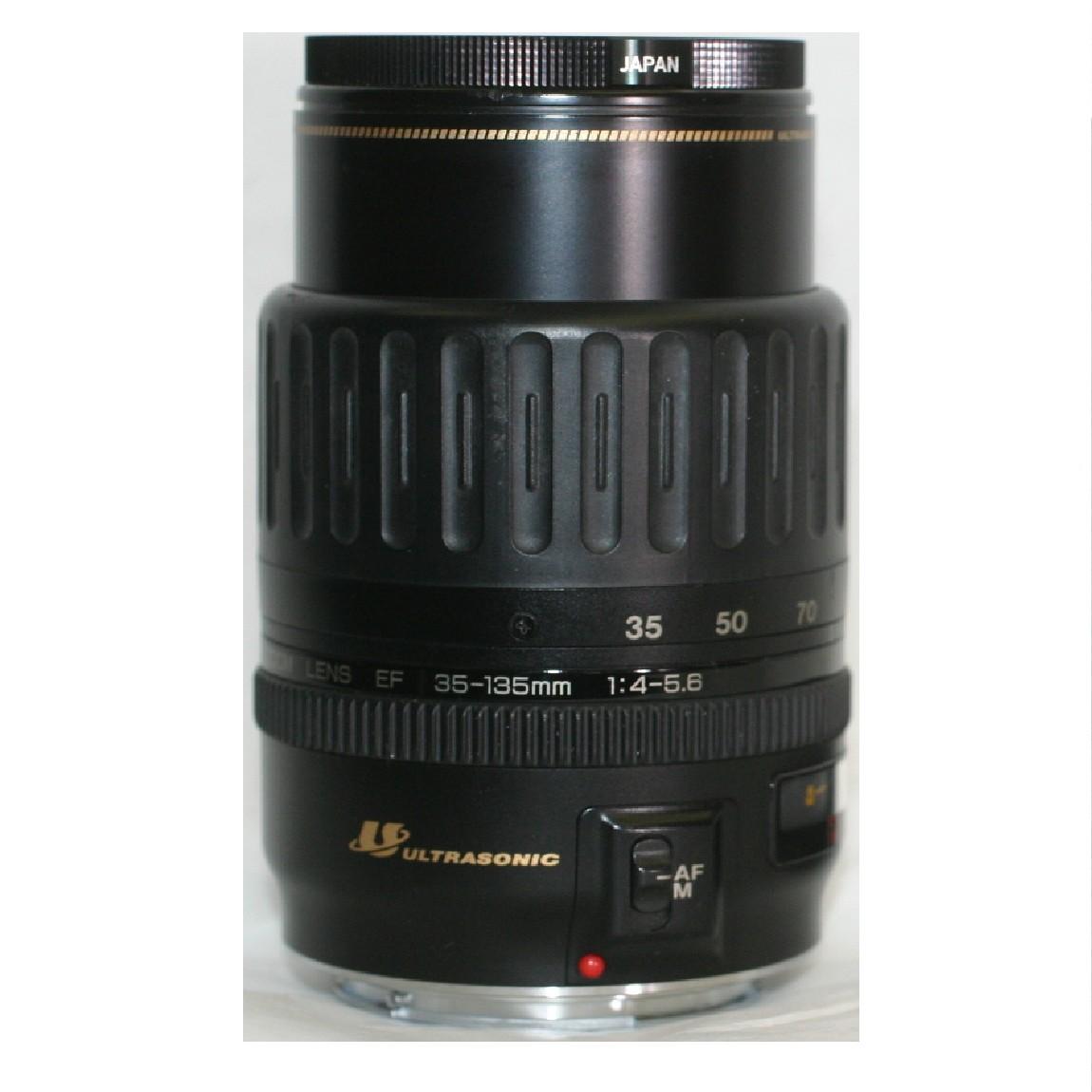 【中古】新品同様キャノンのEOS用EFレンズ35-135mmF4-5,6の4倍ズームレンズ 1ヶ月保障付 ○F13-47