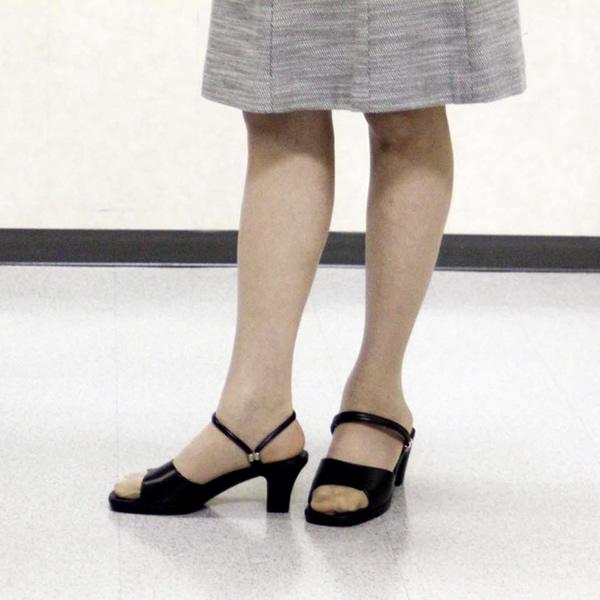 [LucianoValentino]婦人オフィスサンダルレディースオフィスシューズオフィスサンダルビジネスサンダルビジネススリッパ歩きやすい痛くない美脚疲れない無地おしゃれおすすめ【送料無料】