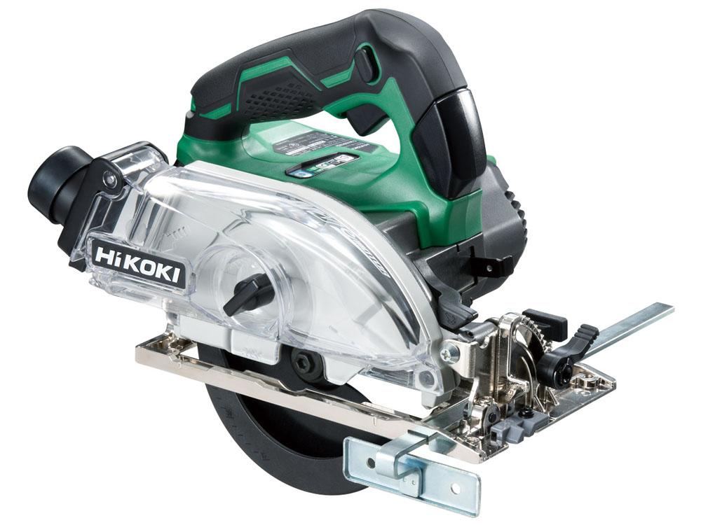 未使用品 HiKOKI コードレス 集じん丸のこ C 3605DYA(XP) 36V 2.5Ah 125mm マルチボルト 蓄電池・充電器・ケース付