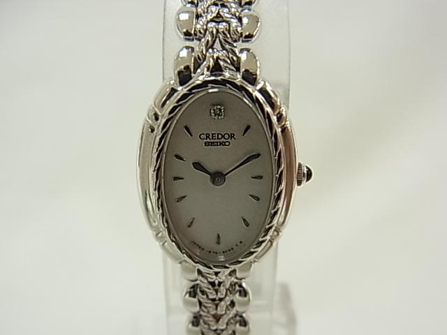 クレドール CREDOR 1E70-BA90 レディース 【中古】 【腕時計】【送料無料】