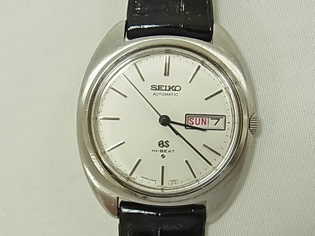 hot sale online 90d25 91ff9 Grand SEIKO 56GS antique medallion automatic HI-BEAT 5646-7000 OH finished