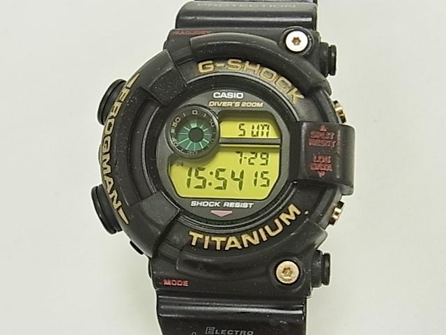 カシオ CASIO Gショック フロッグマン7周年記念モデル DW-8021NT-1JR メンズ 【中古】 【腕時計】【送料無料】