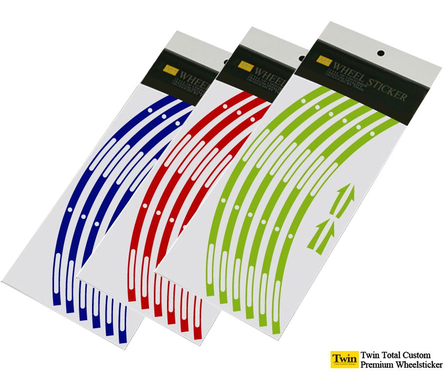 新商品 定番スタイル デザインホイールステッカーtype-1 15~20インチ 送料無料 リムステッカー