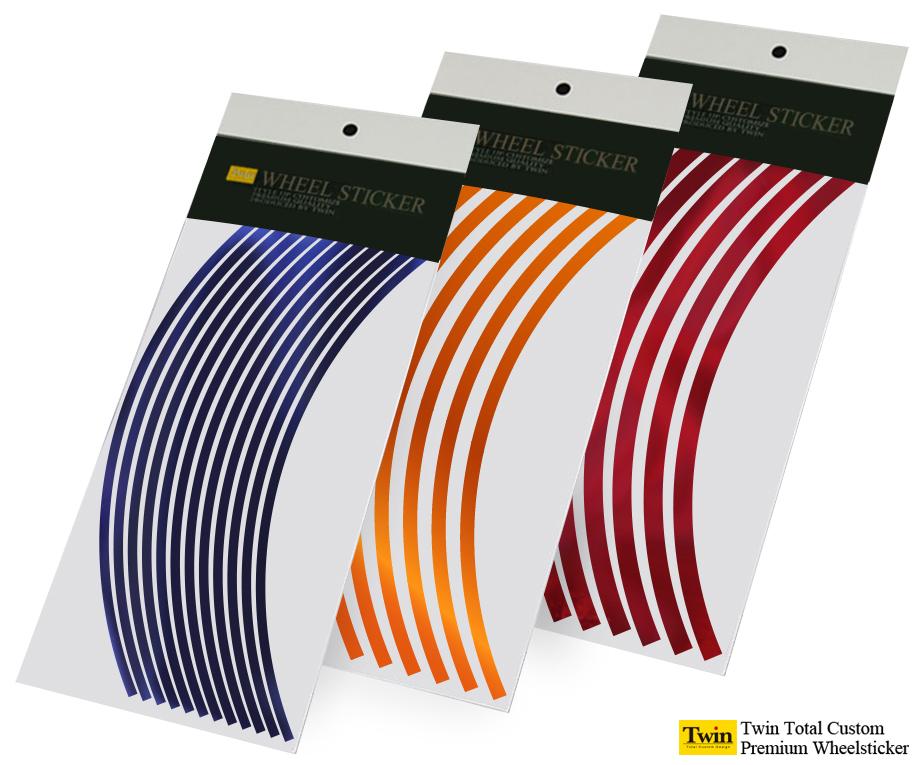 メッキカラーホイールステッカー スタンダードタイプ ブランド買うならブランドオフ 8~14インチ リムステッカー3mm 5mm 定番スタイル 送料無料 10mm幅 7mm