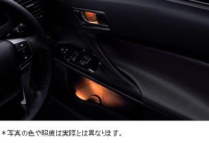 【トヨタ純正】 ドアハンドル&ポケットイルミネーション ★マークX 130系前期★