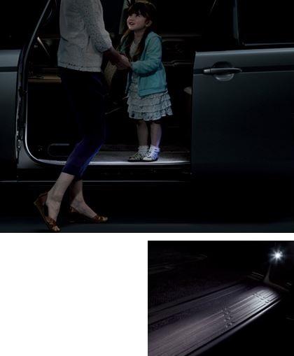 【トヨタ純正】 ステップライト ★スペイド 140系★