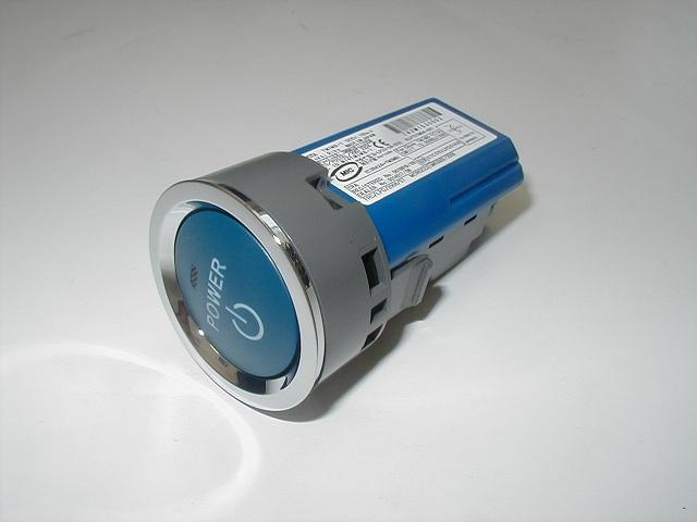 トヨタ純正 プッシュスタートスイッチ エンジンスターターボタン 再販ご予約限定送料無料 ZVW30 プリウス メーカー公式 ブルー