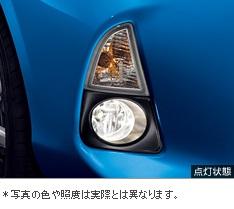 【トヨタ純正】 クリアフォグランプ・ビルトインタイプ ★アクア 10系前期★