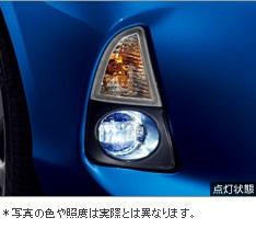 【トヨタ純正】 LEDフォグランプ ★アクア 10系前期★