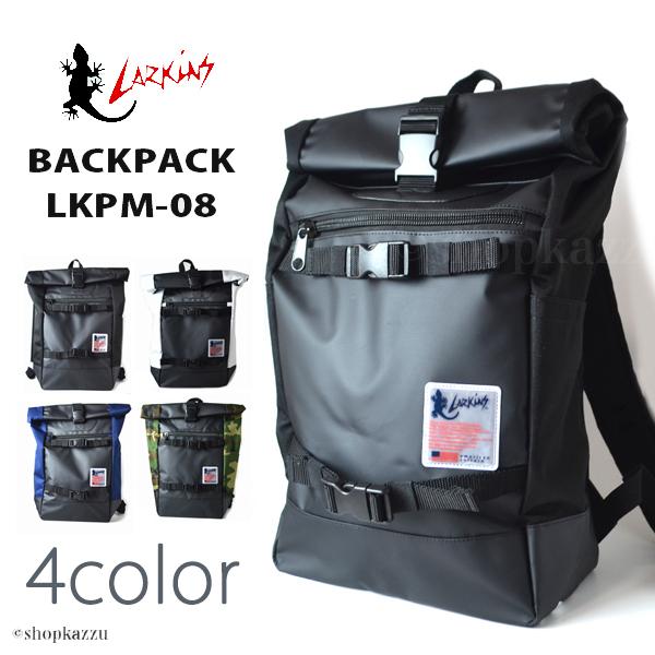 892ca406f1a7 リュック メンズ 600Dポリエステル ロールトップ バックパック LARKINS (4色) 【LKPM-