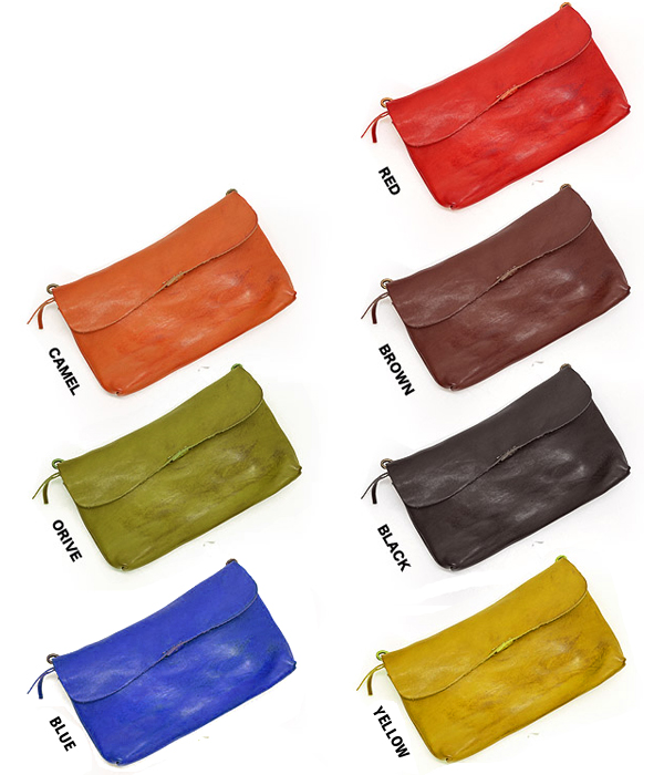 da1fa097fd04 財布 ショルダーバッグ レディース 牛革 ウォレットポーチ ビーバー2 ZOO (7色) 【ZLW