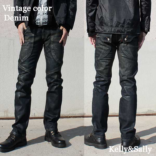 916eac015c1 ... Jeans men jeans Kinney denim underwear rider soot rim big size straight  pants hip pocket chino ...