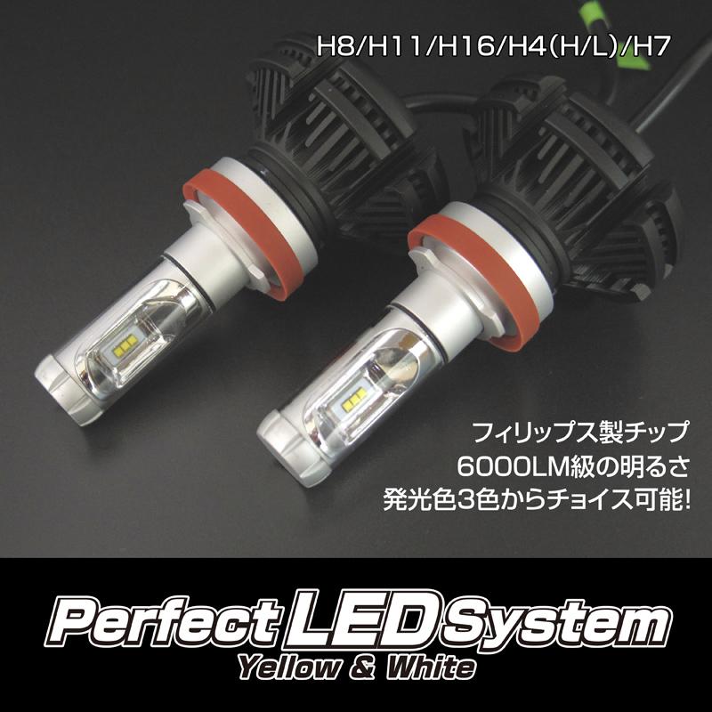 【オールインワンLED】パーフェクトLEDシステム H11 LEDバルブ