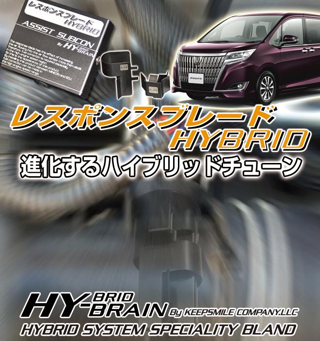 トヨタ エスクァイア用HY-BRAINレスポンスブレードHYBRID アシストサブコンSET
