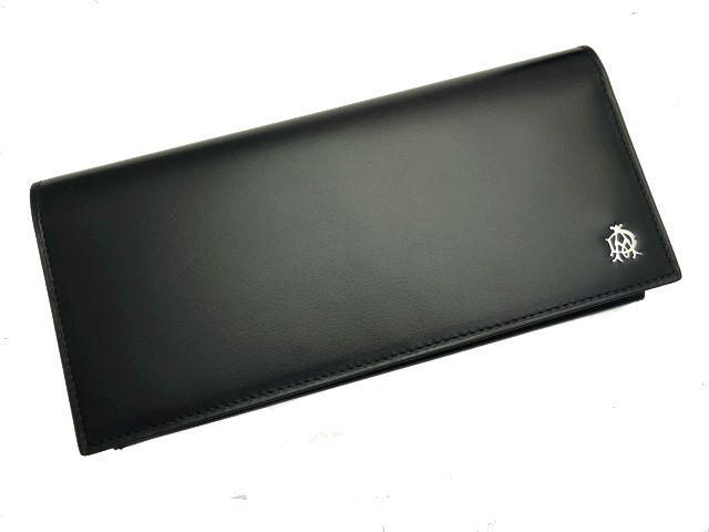 【未使用】dunhill★ダンヒルYORK ヨーク 長財布 小銭入れ付き ブラック L2R310A【新品特価品】