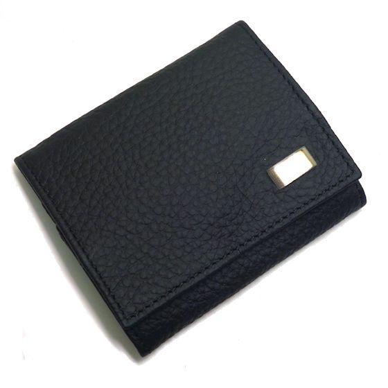 【未使用】dunhill★ダンヒル小銭入れ ブラック WJ8000A