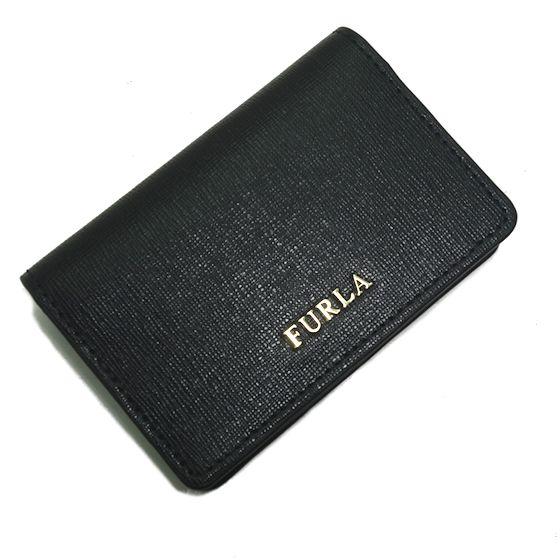【新品】FURLA★フルラカードケース 名刺入れ黒色 874701