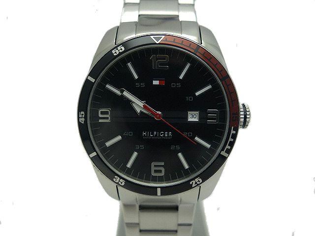 【新品】TOMMY★HILFIGERメンズクォーツ腕時計1790916