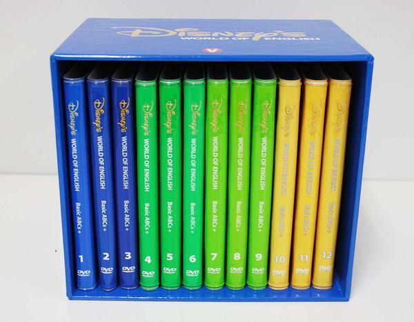 【新着】◆ストレートプレイDVD(DVDセット)【ブラシアート版】 ◆ディズニー英語システム【中古】ワールドファミリー DWE 英語教材 幼児教材 子供教材 知育教材 406002